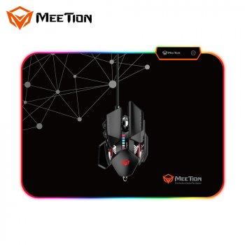 Игровая поверхность для мыши с подсветкой MEETION Backlit Gaming Mouse Pad RGB MT-PD120 black