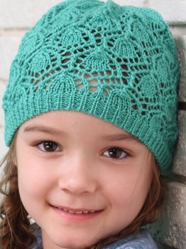 Демисезонная шапка Babasik Николь 52-54 см Мятная (ROZ6400047197)