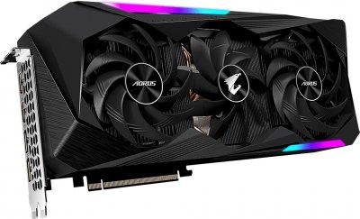 Gigabyte PCI-Ex Radeon RX 6900 XT Aorus Master 16G 16 GB GDDR6 (256 bit) (2135/16000) (2 х HDMI, 2 x DisplayPort) (GV-R69XTAORUS M-16GD)
