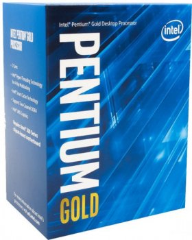 Процесор Intel Pentium Gold (LGA1200) G6400, Box (BX80701G6400)
