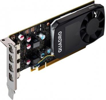 PNY PCI-Ex NVIDIA Quadro P620 DVI 2GB GDDR5 (128bit) (1354/4012) (4 x miniDisplayPort) (VCQP620-SB)