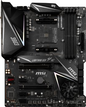 Материнська плата MSI MPG X570 Gaming Edge Wi-Fi (sAM4, AMD X570, PCI-Ex16)