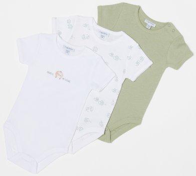 Боди-футболка ОVS 1107637-56 3 шт