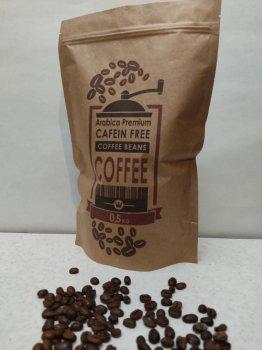 Кофе без кофеина арабика 100% в зернах 500 г