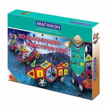 3D магнитный конструктор 83 детали Магникон