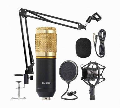 Студийный конденсаторный микрофон FANGWU BM-800 с пантографом и ветрозащитой