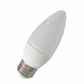 "Лампа світлодіодна С37 9W E27 900LM 6500K 175-265V свічка ""LEMANSO"" LM3056"