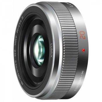 Об'єктив PANASONIC Lumix G 20mm f/1.7 ASPH metal body black (H-H020AE-K)