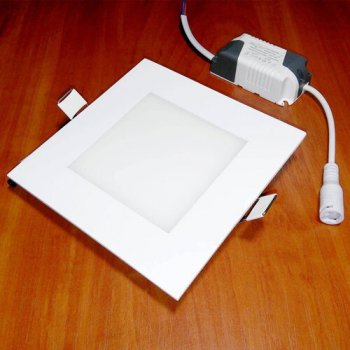 Світильник світлодіодний Biom PL-S6 WW 6Вт квадратний теплий білий (LF-6-01)