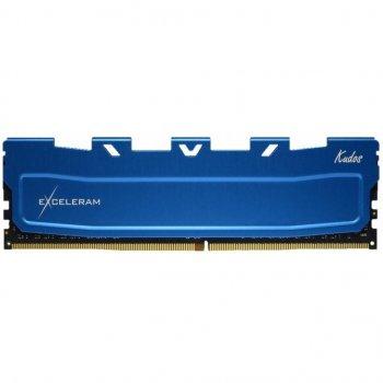 Модуль пам'яті для комп'ютера DDR4 16GB 3200 MHz Blue Kudos eXceleram (EKBLUE4163222C)