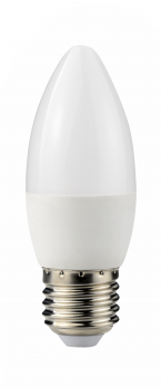 Світлодіодна лампа Ultralight LED C37 6W 4100K E27 ЕКО (UL-50886)