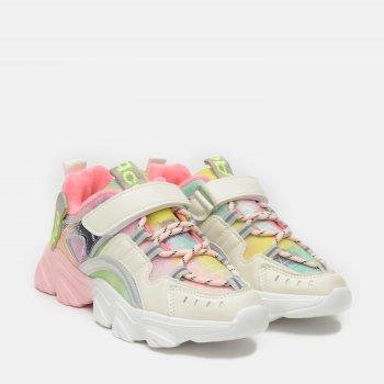 Кросівки Kimboo ZY952-3F Біло-рожеві