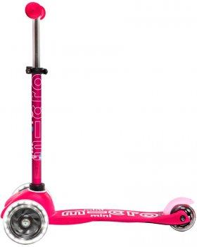 Самокат Mini Micro Deluxe LED Pink (ММD075) (7630053523015)