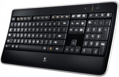 Клавіатура безпровідна Logitech Illuminated K800 (920-002359) - refurbished