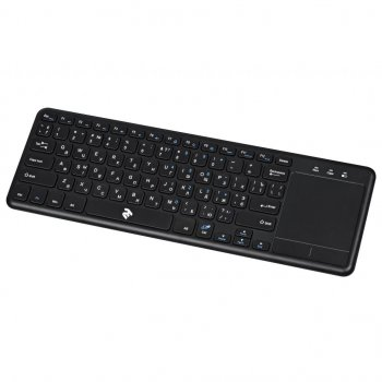 Клавіатура 2E KT100 Touch Wireless Black (2E-KT100WB)