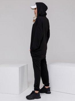 Спортивний костюм ISSA PLUS 12495 Чорний