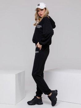 Спортивний костюм ISSA PLUS 12496 Чорний
