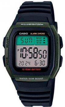 Чоловічий наручний годинник Casio W-96H-3AVEF
