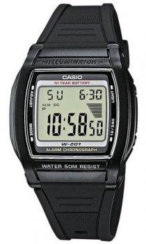Чоловічий наручний годинник Casio W-201-1AVEG