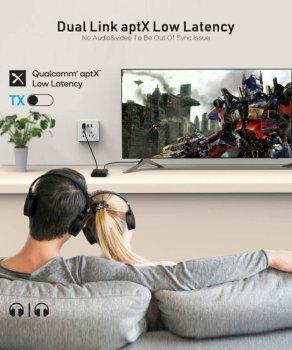 Bluetooth приемник, передатчик 1Mii ML300 Qualcomm Dual AptX LL