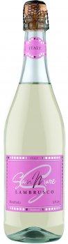 Вино ігристе San Mare Lambrusco dell'Emilia Bianco біле напівсолодке 0.75 л 8% (8008820160715)