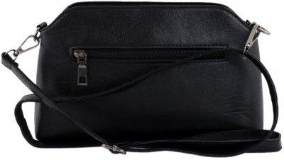 Женская сумка-пошет Traum 7222-35 Черная (4820007222351)
