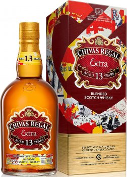 Виски Chivas Regal Sherry Cask 13 лет выдержки 0.7 л 40% в подарочной упаковке (5000299611104)