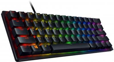 Клавиатура проводная Razer Huntsman Mini Purple Switch RU USB (RZ03-03391500-R3R1)