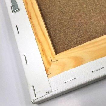 Друк на квадратному бавовняному полотні 20х20 см Ra