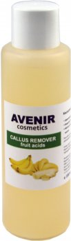 Пилинг для ног Avenir Cosmetics Callus Remover кислотный Банан 100 мл (4820440813987)