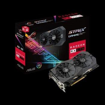 Видеокарта Radeon RX570 ROG (ROG-STRIX-RX570-4G-GAMING)