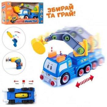 "Конструктор на шурупах ""Екскаватор"" Limo Toy (22913)"