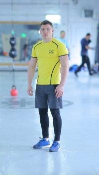 Чоловічий спортивний комплект Glory yellow 3.1 FitU Жовтий