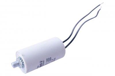 Конденсатор CBB60 Асеса 2мкФ x 450В провід болт (2п+б)