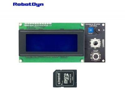 Контролер 3D принтера з LCD екраном і картою пам'яті Robotdyn