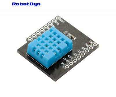 Модуль з датчиком температури і вологості DHT11 для Wemos WIFI D1 mini