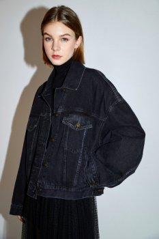 Жіноча джинсова куртка Miss Sixty сірий 603WJ3600000G24