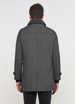 Пальто Desigual чоловіче сіре