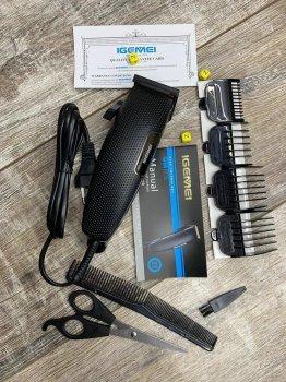 Машинка для стрижки волос GEMEI GM 806 Black (23320)
