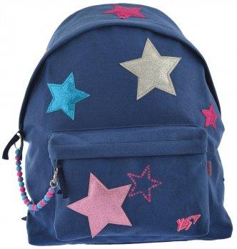 Рюкзак молодіжний Yes ST-32 Glitter Stars для дівчаток 0.4 кг 30х40х11.5 см 13.5 л (556779)