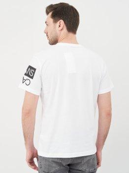 Футболка Calvin Klein Jeans Mirror Logo Seasonal Tee Ss J30J317086-YAF Ck White