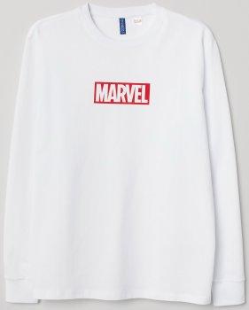Лонгслів H&M 0615057-9 Білий