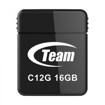 Флеш-накопичувач USB 16Gb Team C12G Black (TC12G16GB01)