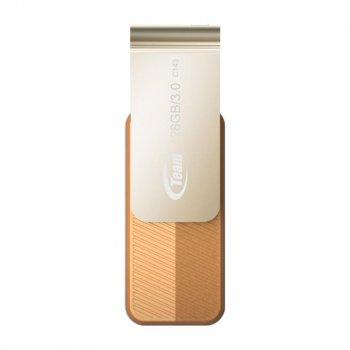 Флеш-накопичувач USB3.0 128Gb Team C143 Brown (TC1433128GN01)