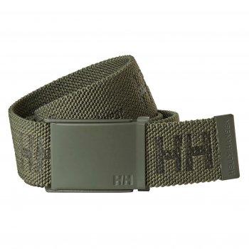 Ремень Helly Hansen HH Logo Webbing Belt - 79528 (Army Green; STD)