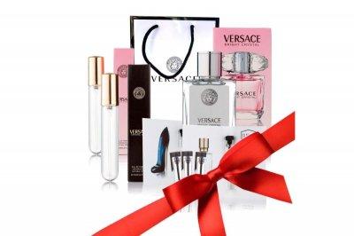 Подарунковий набір парфумів Versace в брендовому пакеті 8 в 1(123330)