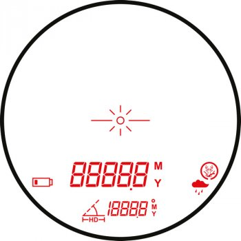 Дальномер Hawke Endurance LRF 1000 High O-LED 6x21 (926969)