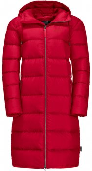 Куртка Jack Wolfskin Crystal Palace Coat 1204131-2505 Красная