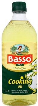 Масло Basso для жарки подсолнечно-оливковое 1 л (8004123007696)