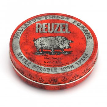 Помада середньої фіксації для волосся червона Reuzel Red Water Soluble Pomade 113 г (879546019506)